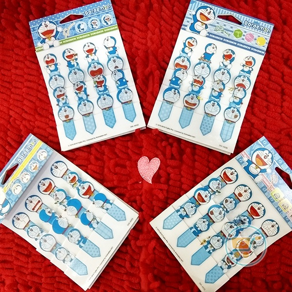 Sticker Doraemon pembatas Buku