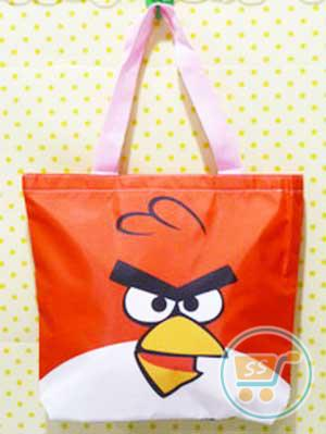Tas Cangklong Angry Bird Red