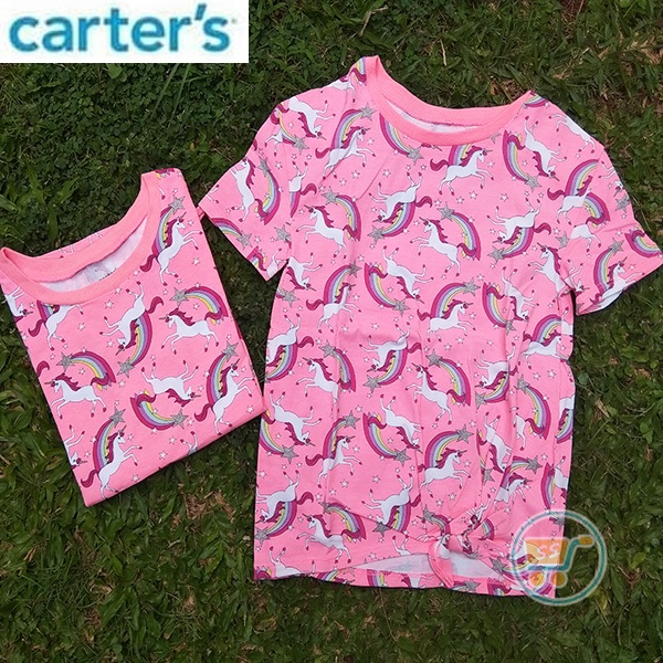 Tshirt Carter Unicorn Rainbow