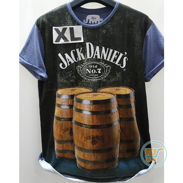 Tshirt Jack Daniels Old Brand Extra Large