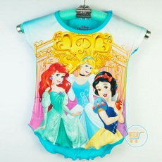 Baju Princess Blue Disney Original (Ukuran 4 - 14)