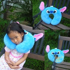 Bantal Leher Stitch Face