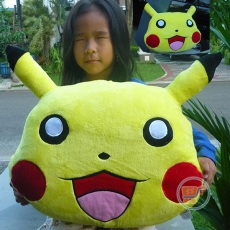 Bantal Pokemon Head Large