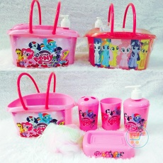 Bath Set Little Pony