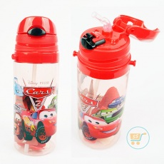 Botol Minum Cars Medium Red