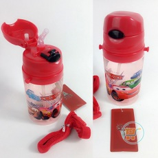 Botol Minum Cars Short Red