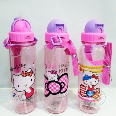 Botol Minum Hello Kitty Pink With Purple
