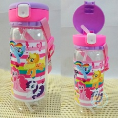 Botol Minum Little Pony White Lock