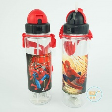 Botol Minum Spiderman Slim Long Red