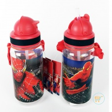 Botol Minum Spiderman Small Red