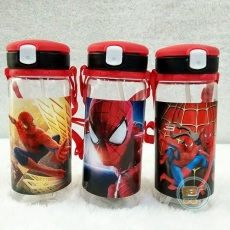 Botol Minum Spiderman White Lock