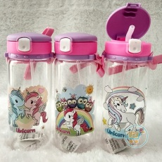 Botol Minum Unicorn White Lock