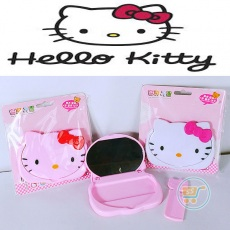 Cermin Sisir Hello Kitty Head
