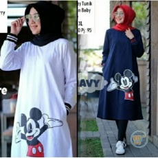 Dress Tunik Mickey Mouse Hug