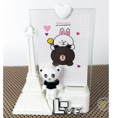 Frame Panda Paris Love