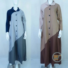 Gamis Triple Colour