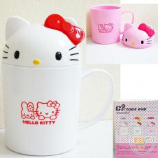 Gelas Melamin Hello Kitty Cute Head