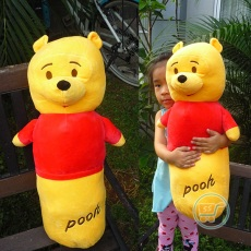 Guling Pooh Flying