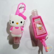 Holder 3D Hello Kitty Body Pink + Handgel