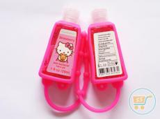 Pocket Bac Hand Gel Glow In The Dark Hello Kitty Pink Fanta