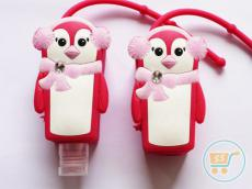Holder 3D Pinguin Pink (Holder Only)