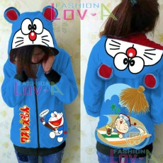 Jaket Doraemon In The Beach Cute Ears