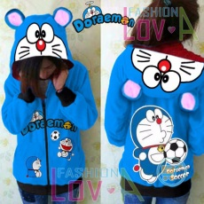 Jaket Doraemon Soccer Cute Ears