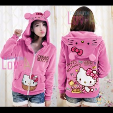 Jaket Hello Kitty Birthday Cute Ears