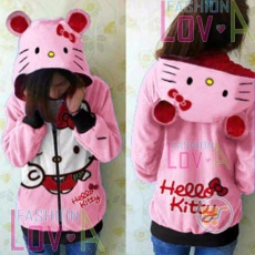 Jaket Hello Kitty Peace Cute Ears