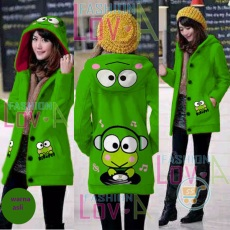 Jaket Keroppi Headphone Hoodie Long
