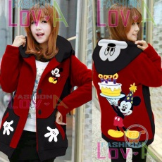 Jaket Mickey Mouse Birthday Hoodie Korea