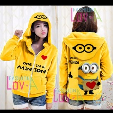 Jaket Minion One In Love