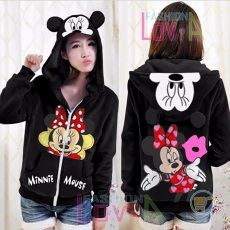 Jaket Minnie Mouse Kiss Cute Ears