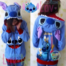 Jaket Stitch And Friends Cute Ears