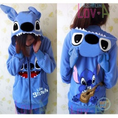 Jaket Stitch Gitar Cute Ears