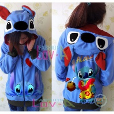 Jaket Stitch Hawai Cute Ears