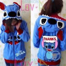 Jaket Stitch Thanks Cute Ears