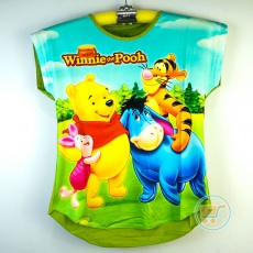 Kaos Pooh And Friends (Ukuran 10 - 14)