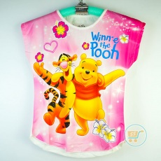 Kaos Pooh And Tiger (Ukuran 10 - 14)