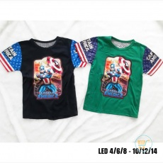 Kaos Captain America Led Star