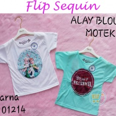Kaos Frozen flip Sequin Beauty