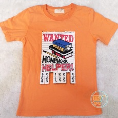 Tshirt Girodano Wanted Homeworks