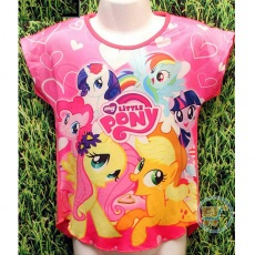 Kaos Little Pony Sweet Heart (Ukuran 4 - 14)