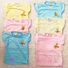 Baju Bayi Bordir Colourfull