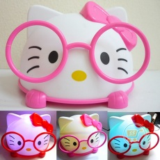 Lampu Hello Kitty Cute Nerdy (Merah)