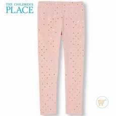 Legging Place Dot Metallic Pink