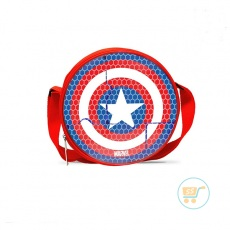 Lunch Box Captain America Set With Bag