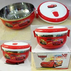 Lunch Box Cars Stainles Bulat