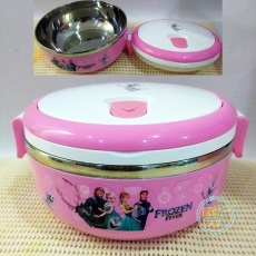 Lunch Box Frozen Stainles Bulat
