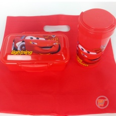 Lunch Box Cars Set With Bag